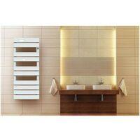 Cayenne Sèche-serviette LAME PLATE LCD blanc - plusieurs puissances disponibles