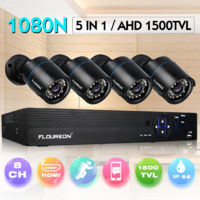 CCTV 8CH 5-in-1 1080P Lite DVR Outdoor AHD Bullet IR Home Security Camera System