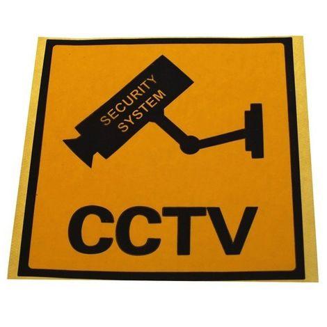 CCTV Window Sticker [002-0550]
