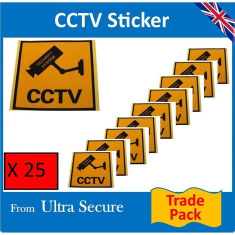 CCTV Window Sticker Trade Pack [002-///9]