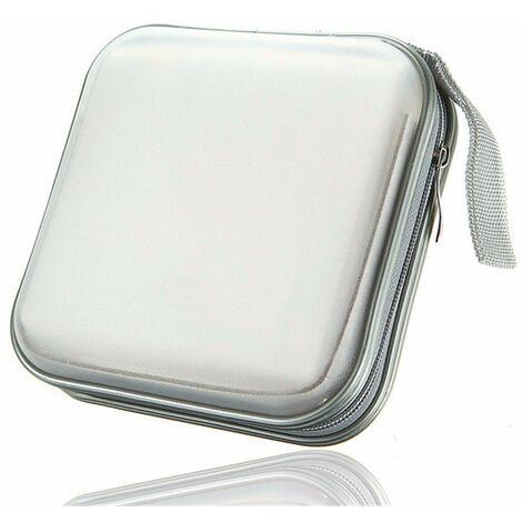 Cd Dvd Sacoche Plastique 40 Capacités Classeur Rangement Boite Pochette Etui