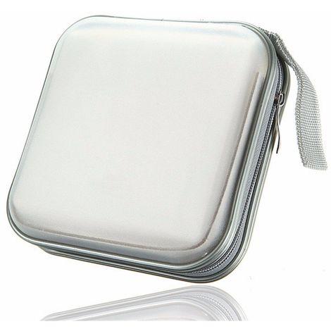CD DVD Sacoche Plastique 40 Capacités Classeur Rangement Boite Pochette Etui Sasicare