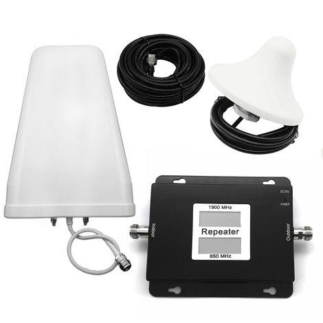 CDMA-PCS 850-1900MHz Amplificador de senal de telefono movil dual de banda dual 2G/4G