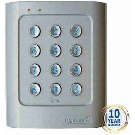 cdvi dga | dga - digicode alliage d'aluminium - 2 relais