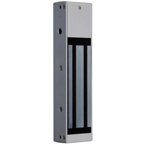 Cdvi ECS8000M - Ventouse Magnétique saillie 500kg 12/24V + Relais Lumineux - NFS 61-937