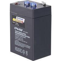 CE 6V / 4,5Ah 250116 Bleiakku 6V 4.5Ah Blei-Vlies (AGM) (B x H x T) 70 x 108 x 48mm Flachstecker 4.8 A37998