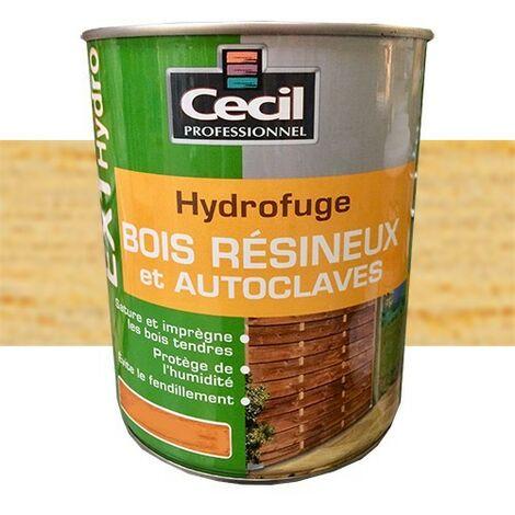 CECIL EXT Hydro Hydrofuge Bois résineux et autoclaves Incolore 1L