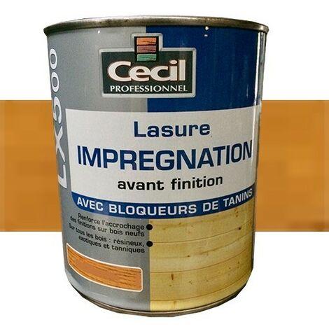 CECIL LX500 Lasure d'imprégnation Châtaignier 1L