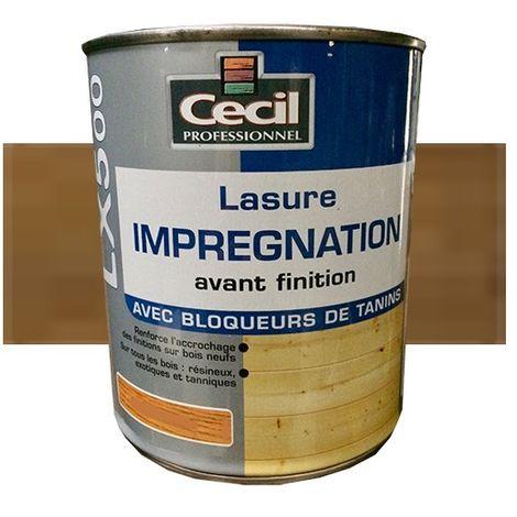 CECIL LX500 Lasure d'imprégnation Chêne - 3L