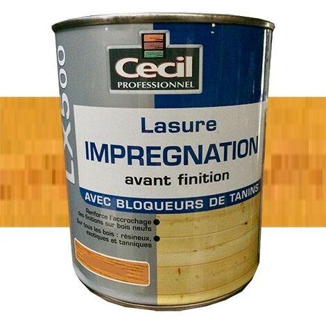 CECIL LX500 Lasure d'imprégnation Chêne doré 1L
