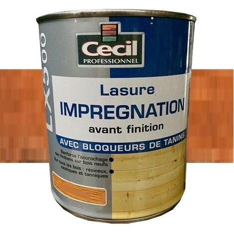 CECIL LX500 Lasure d'imprégnation Teck 1L