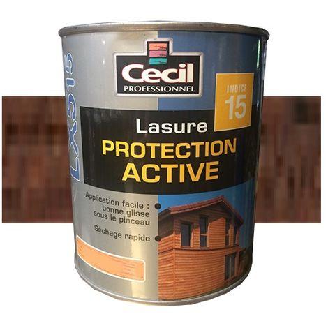 CECIL LX515 Lasure Protection Active Chêne ancien - 5 L