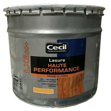 CECIL LX530+ Lasure Haute Performance Chêne doré 10 L