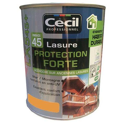 CECIL LX545+ Lasure Protection Forte Châtaignier 1L