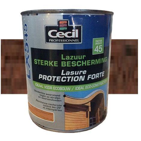 CECIL LX545 Lasure Protection Forte Chêne ancien - 1L