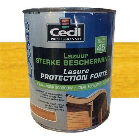 CECIL LX545 Lasure Protection Forte Jaune Catalogne 1L
