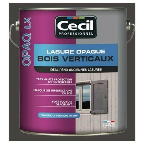 CECIL OPAQ LX Lasure opaque Ardoise 1L - Ardoise