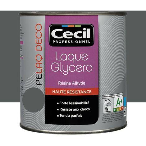 CECIL Peinture PELAQ DECO Satin Gris ardoise 2,5 L - Gris Ardoise