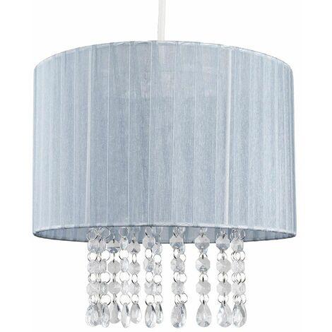 Ceiling Chandelier Lamp Shade Light Acrylic Jewel Lighting - Pink