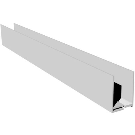Ceiling Cladding Ceiling Panel 2 Part Edge Trim - 10mm x 5000mm White