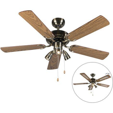 Ceiling fan bronze - Mistral 42