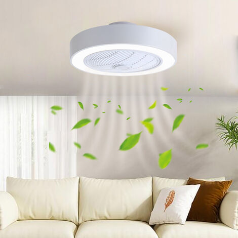 """main image of """"Ceiling Fan LED Lights 7 Blades Adjustable Wind Speed Dimmable IR Remote Control"""""""