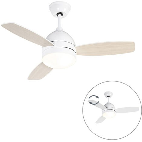 """main image of """"Ceiling fan white with remote control - Rotar"""""""
