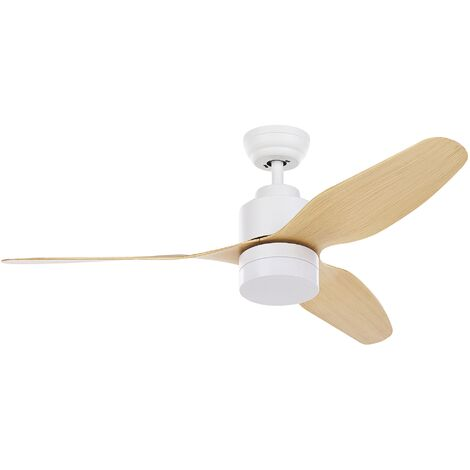 Ceiling Fan with Light White ANDERSON