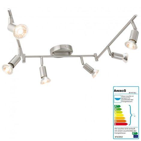 Ceiling Lamp 6 x Spotlights LED Ceiling Spot Light Ceiling Fixture Wall Lamp LED
