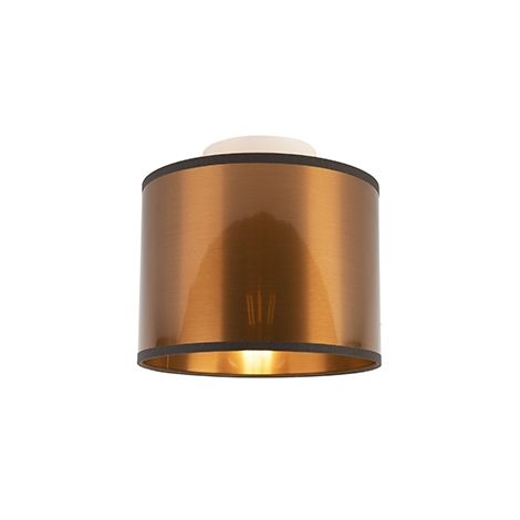 Ceiling lamp copper 20 cm - Drum