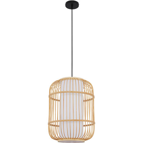 Ceiling Lamp in Bamboo Natural wood