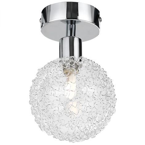 Ceiling Lamp Light Fitting Spotlight Swiveling Angle Adjustable Spots Including LED Bulbs