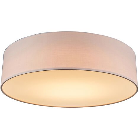 Ceiling Lamp Pink 40cm incl. LED - Drum