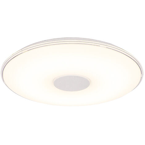 Ceiling lamp round incl. LED dim to warm remote control - Seoul