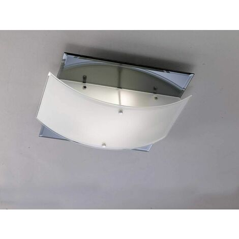 Ceiling lamp Vito 2 Bulbs polished chrome / Mirror
