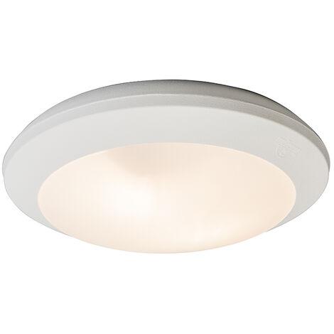 Ceiling Lamp White with Sensors IP65 - Umberta