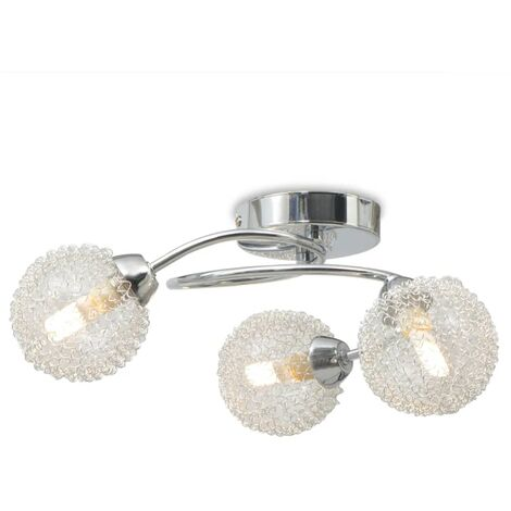 Ceiling Lamp with 3 LED Bulbs G9 120 W