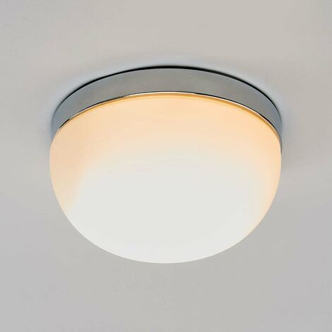 Ceiling light Adalind, glass lampshade, 23.5 cm