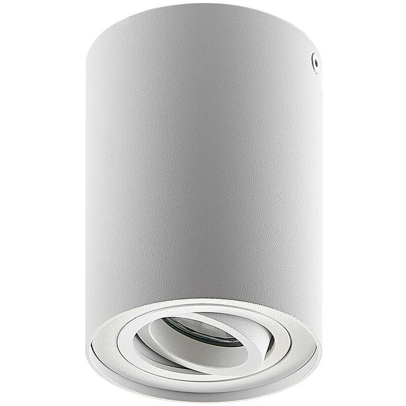 Image of Ceiling Light 'Aleena' dimmable (modern) in White made of Aluminium (1 light source, GU10, A++) from ELC | ceiling lamp, lamp