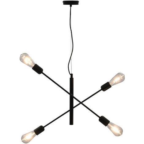"main image of ""Ceiling Light Black E27"""