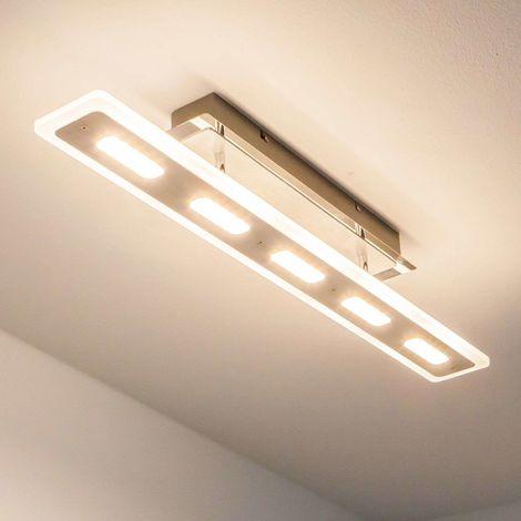 Ceiling Light Borgia Modern In White Made Of Plastic For E G Kitchen