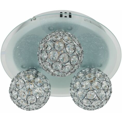 Ceiling Light Colour Changing Bulb Lighting Remote Control Jewel Shades