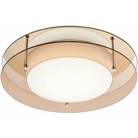 Ceiling light IP44 Alvaro 1 Amber bulb 31 Cm