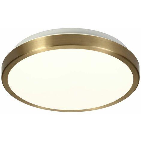 Ceiling light IP44 Gela 1 Bulb Bronze 20 Cm
