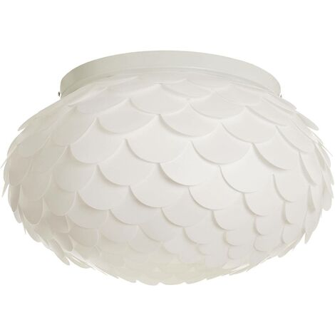 Ceiling light Marees in white, round