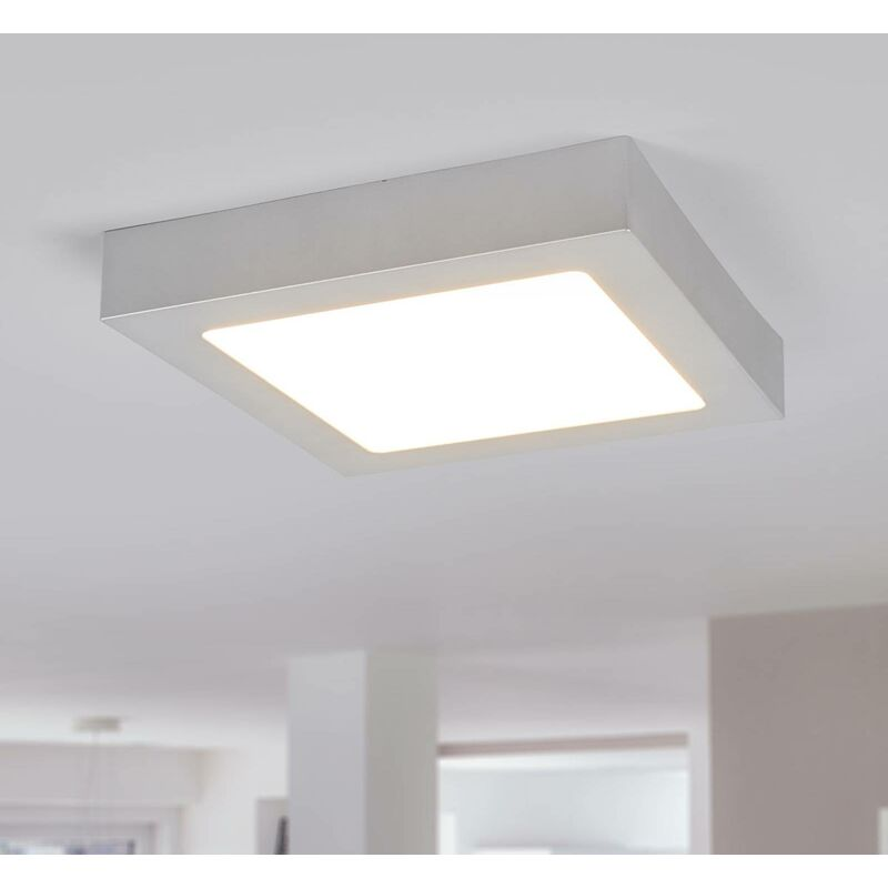 Image of Arcchio - Ceiling Light 'Marlo' (modern) in Silver for e.g. Bathroom (1 light source, A+) from ceiling lamp, lamp