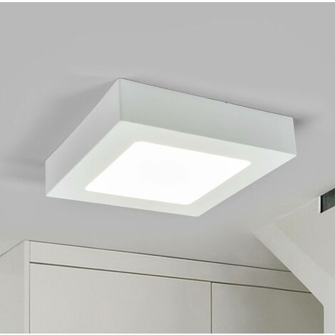 """main image of """"Ceiling Light 'Marlo' (modern) in White for e.g. Bathroom (1 light source,) from Arcchio 