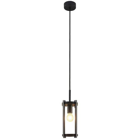 Ceiling Light Outdoor 'Brienne' dimmable (modern) in Silver made of Aluminium (1 light source, E27, A++) from Lucande | pendant Lighting, outdoor light