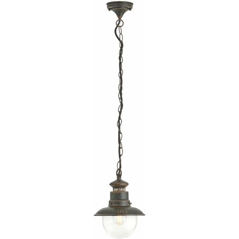 Ceiling Light Outdoor 'Eddie' dimmable) in Brown (1 light source, E27, A++) from Lindby | pendant Lighting, outdoor light