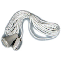 Ceiling Light Switch Spare Nylon Pull Cord White Brand New *Fast Delivery*